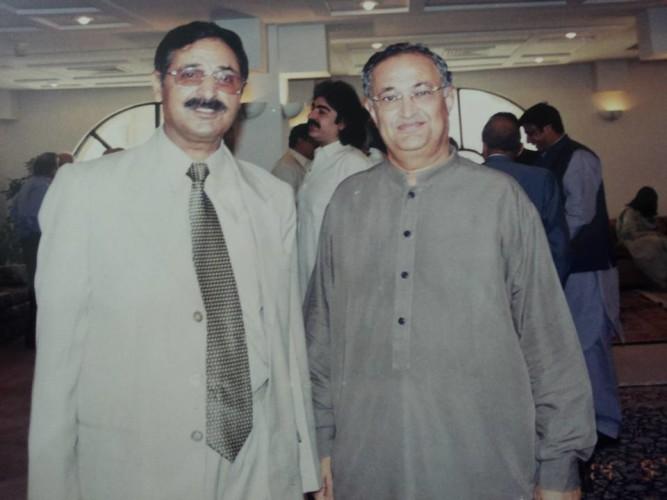 Former Information Minister Nisar Memon Sahib