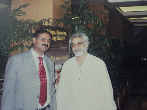 I H Malik Astrologist palmist with Ayaz Amir