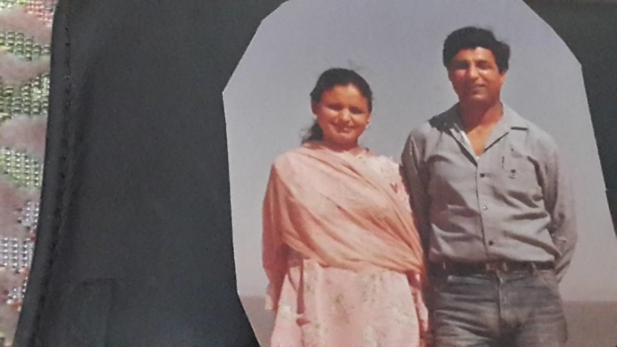 I H malik with his great Wife in Old Golden Days