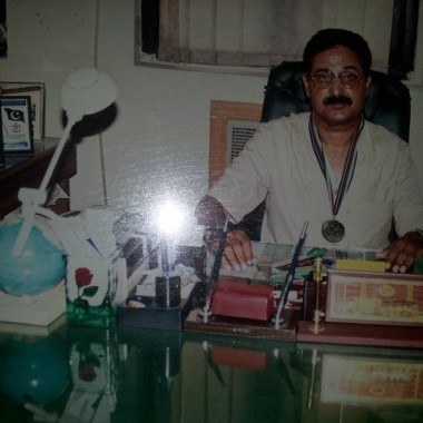I.H Malik in Office
