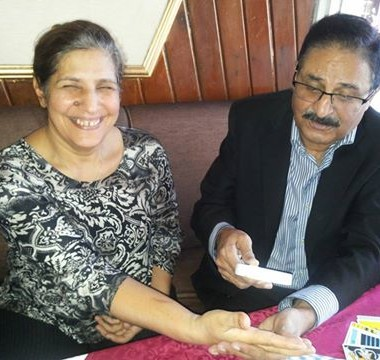 IH Malik Reading Tarrot Card