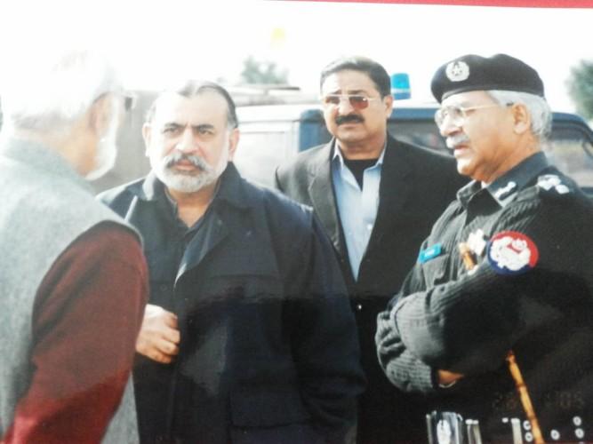 Pics with IG KP Nasir Durani Sahib others Two Dignitaries
