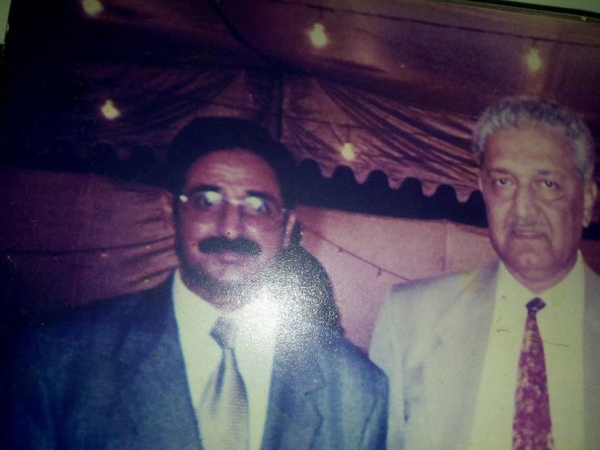 With Great Scientist Dr Abdul Qadeer sahib