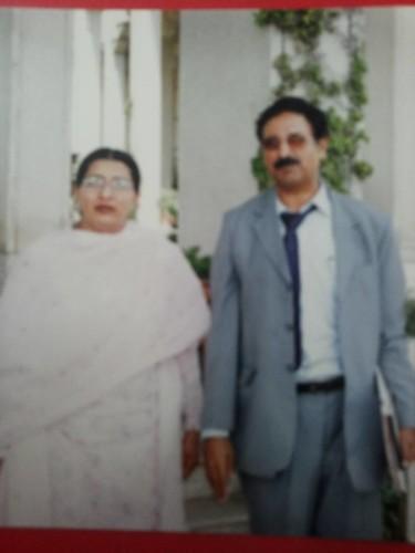 With former Minister FirDos Ashiq Awan Sahiba