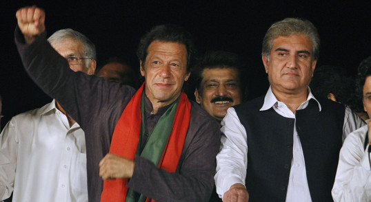 Imran Khan, Shah Mahmood Qureshi