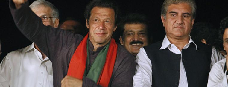 Imran Khan, Shah Mahmood Qureshi