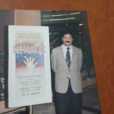 Astrology, Palmistry and Tarot Card Reading Display Board in Marriott Hotel, Islamabad Pakistan
