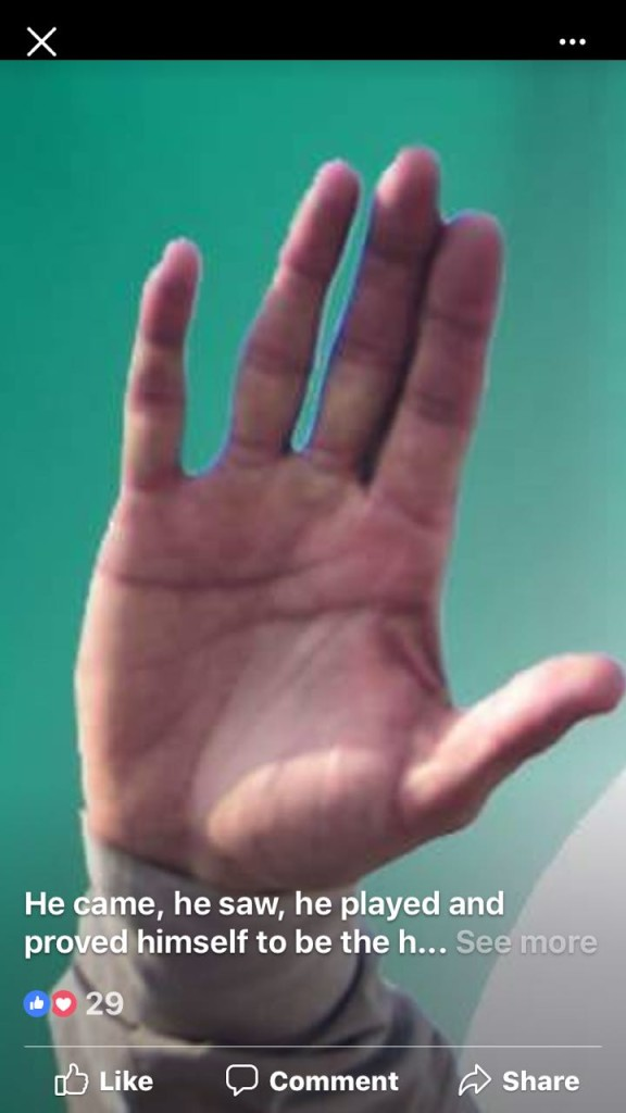 imran khan Palm